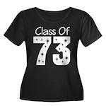Class of 1973 Women's Plus Size Scoop Neck Dark T-
