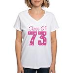 Class of 1973 Women's V-Neck T-Shirt