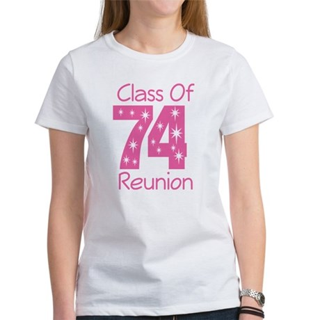 Class of 1974 Reunion Women's T-Shirt
