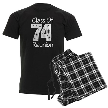 Class of 1974 Reunion Men's Dark Pajamas