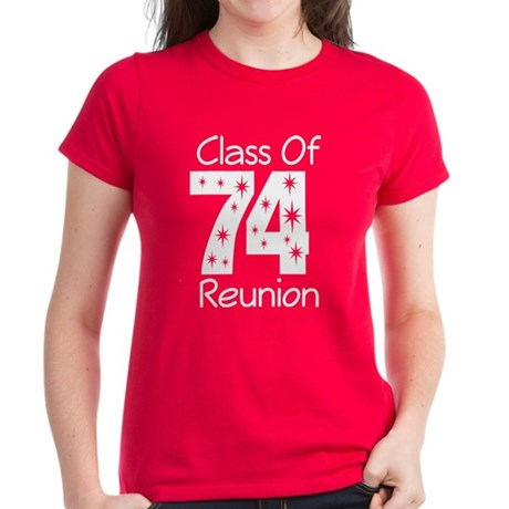 Class of 1974 Reunion Women's Dark T-Shirt