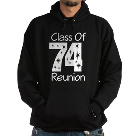 Class of 1974 Reunion Hoodie (dark)