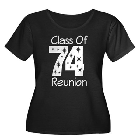 Class of 1974 Reunion Women's Plus Size Scoop Neck