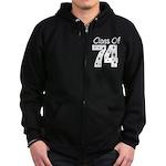 Class of 1974 Zip Hoodie (dark)