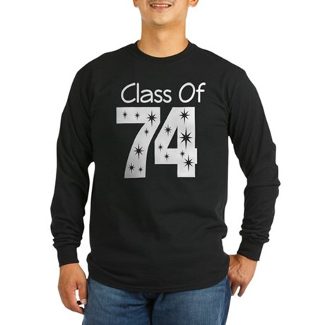 Class of 1974 Long Sleeve Dark T-Shirt