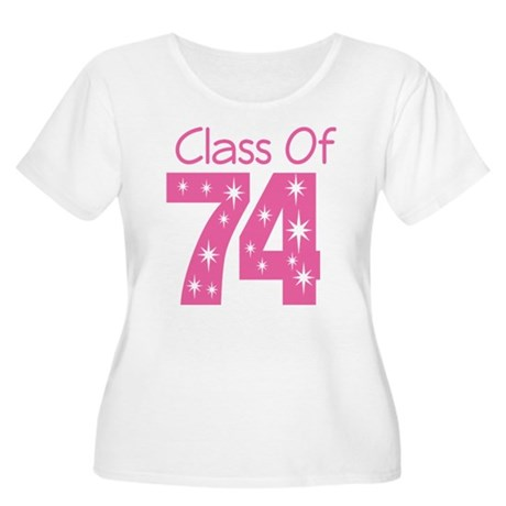 Class of 1974 Women's Plus Size Scoop Neck T-Shirt