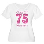 Class of 1975 Reunion Women's Plus Size Scoop Neck