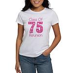 Class of 1975 Reunion Women's T-Shirt