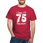 Class of 1975 Reunion Dark T-Shirt
