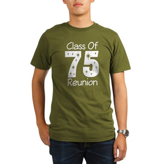 Class of 1975 Reunion Organic Men's T-Shirt (dark)