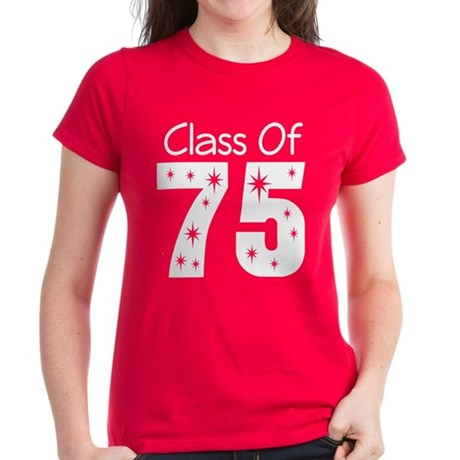 Class of 1975 Women's Dark T-Shirt