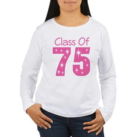Class of 1975 Women's Long Sleeve T-Shirt