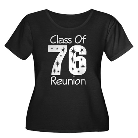 Class of 1976 Reunion Women's Plus Size Scoop Neck