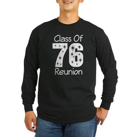 Class of 1976 Reunion Long Sleeve Dark T-Shirt
