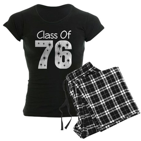 Class of 1976 Women's Dark Pajamas