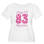 Class of 1983 Reunion Women's Plus Size Scoop Neck