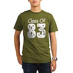 Class of 1983 Organic Men's T-Shirt (dark)