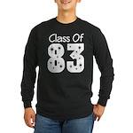 Class of 1983 Long Sleeve Dark T-Shirt