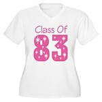 Class of 1983 Women's Plus Size V-Neck T-Shirt
