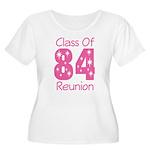Class of 1984 Reunion Women's Plus Size Scoop Neck