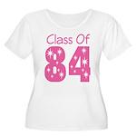 Class of 1984 Women's Plus Size Scoop Neck T-Shirt