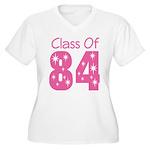 Class of 1984 Women's Plus Size V-Neck T-Shirt