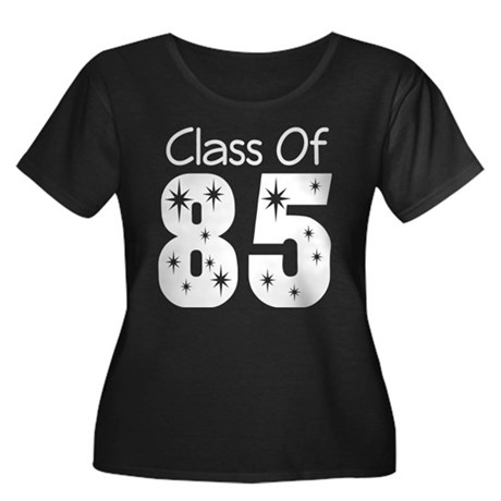 Class of 1985 Women's Plus Size Scoop Neck Dark T-