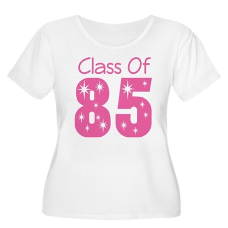 Class of 1985 Women's Plus Size Scoop Neck T-Shirt