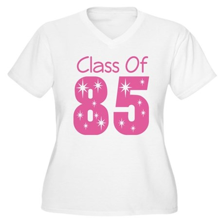 Class of 1985 Women's Plus Size V-Neck T-Shirt