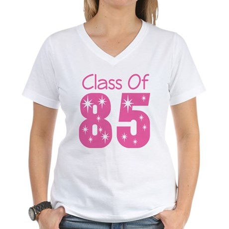 Class of 1985 Women's V-Neck T-Shirt