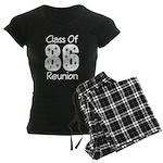Class of 1986 Reunion Women's Dark Pajamas