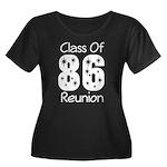 Class of 1986 Reunion Women's Plus Size Scoop Neck