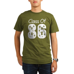 Class of 1986 Reunion Organic Men's T-Shirt (dark)