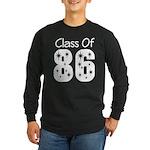 Class of 1986 Reunion Long Sleeve Dark T-Shirt