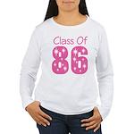 Class of 1986 Reunion Women's Long Sleeve T-Shirt