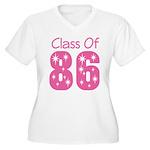 Class of 1986 Reunion Women's Plus Size V-Neck T-S