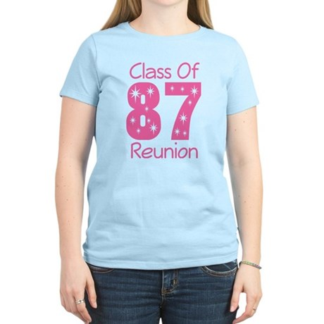 Class of 1987 Reunion Women's Light T-Shirt