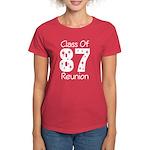 Class of 1987 Reunion Women's Dark T-Shirt