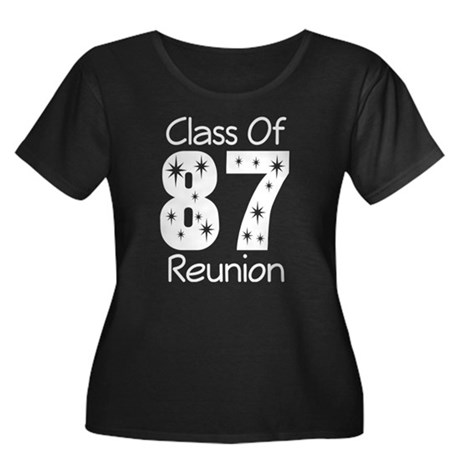 Class of 1987 Reunion Women's Plus Size Scoop Neck