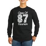 Class of 1987 Reunion Long Sleeve Dark T-Shirt