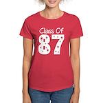 Class of 1987 Women's Dark T-Shirt
