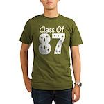 Class of 1987 Organic Men's T-Shirt (dark)