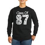 Class of 1987 Long Sleeve Dark T-Shirt