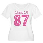 Class of 1987 Women's Plus Size Scoop Neck T-Shirt