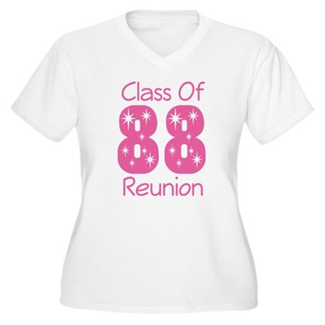 Class of 1988 Reunion Women's Plus Size V-Neck T-S
