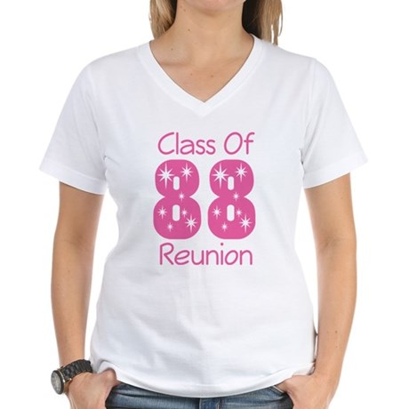 Class of 1988 Reunion Women's V-Neck T-Shirt