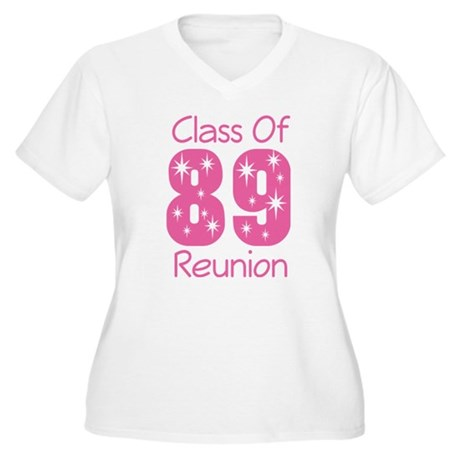 Class of 1989 Reunion Women's Plus Size V-Neck T-S