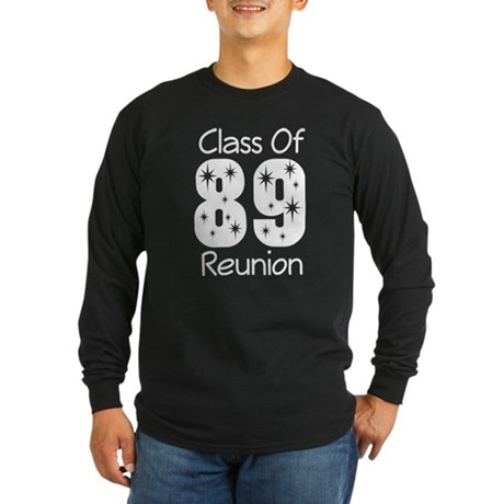 Class of 1989 Reunion Long Sleeve Dark T-Shirt