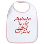Melinda On Fire Bib