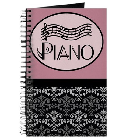 Music Practice Piano Journal Journal